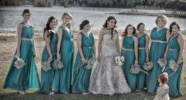La sposa e le sue dame