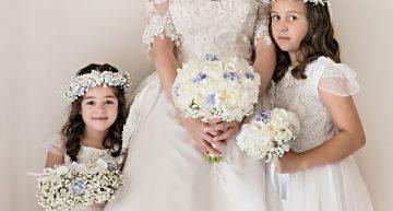 La Sposa e due teneri fiori.